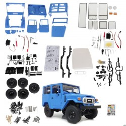 WPL C34 Kit C34K 1:16 KIT VERSION ,Hobby Grade,rc offroad FJ40 Blue