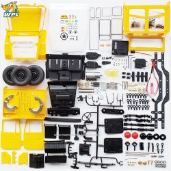 WPL C34KM FULL METAL 1:16 KIT VERSION FJ40 Yellow