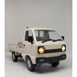 WPL D12 RC Car Pickup Truck RWD Drift 1:10 : Suzuki Carry White