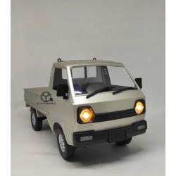 WPL D12 RC Car Pickup Truck RWD Drift 1:10 : Suzuki Carry Silver