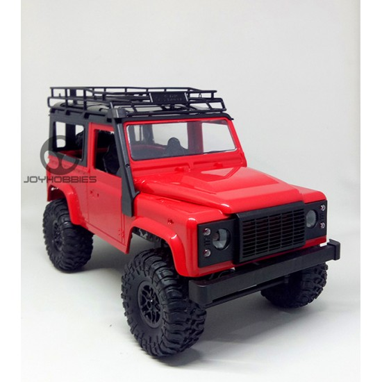 MN 1:12 D90 Landrover Defender RED , RTR , Semi propo