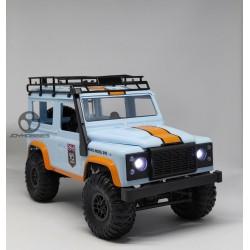 MN-99 1:12 Landrover Defender D90, full propo, Blue