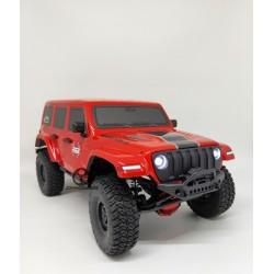 RGT 1:16 136161 JL  RTR : Jeep Rubicon JL Red