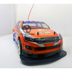 1:10 Sanzuan Drift Racing Turbo: Isuzu Dmax Orange